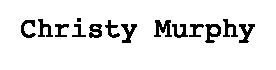 Christy Murphy